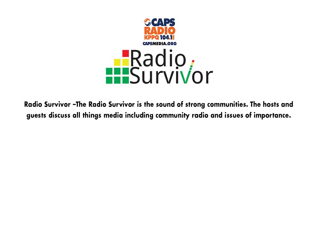 Radio Survivor copy